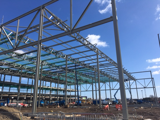 A complete steel structure provided byone of the uk's leading manufacturers and suppliers of structural, access and secondary steelwork for the construction industry.