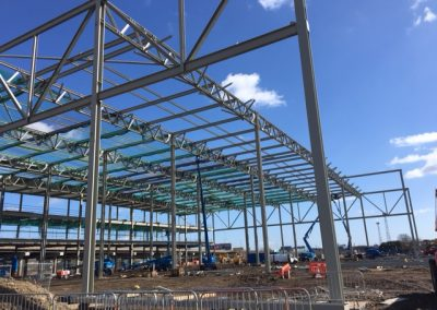 Structural Steelwork Project - Midland Structures