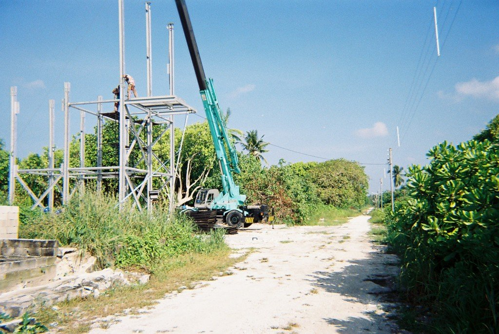 Water Treatment Towers