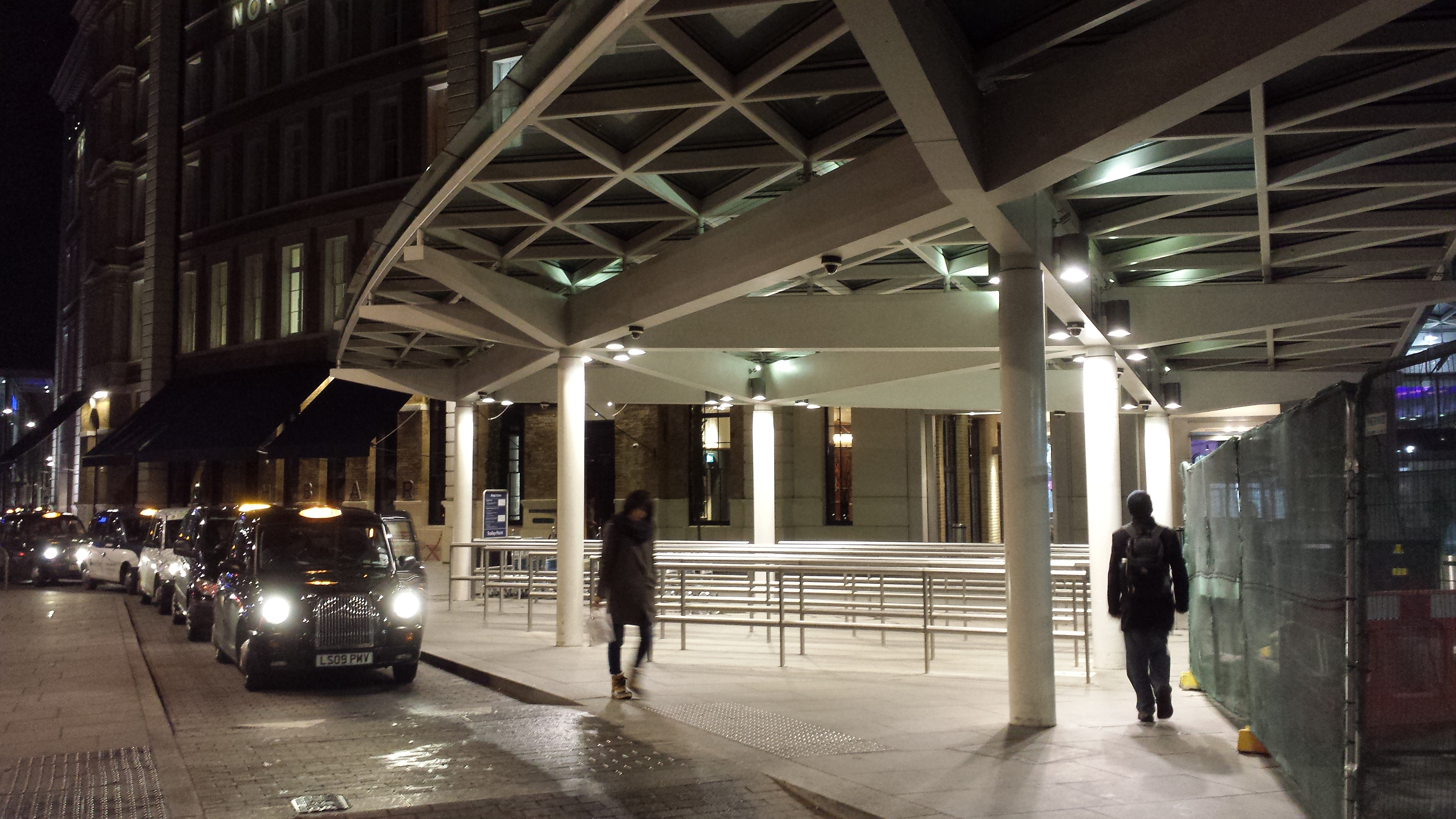 Kings Cross - architectural fabrications project